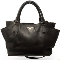 Prada Dark Chocolate Handbag