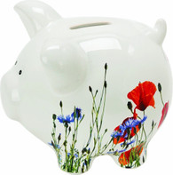 Flower Quite Simply Piggy Bank