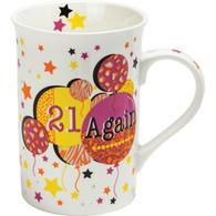 Tea Party 21 Again Mug
