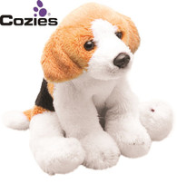 Yomiko Classics 12.7cm Sitting Beagle Dog - Soft Toy by Suki
