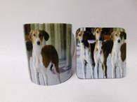 Azawakh Dog Mug and Coaster Set