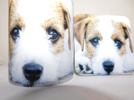 Parson Russell Terrier Dog Mug and Coaster Set