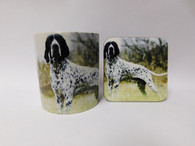 Braque D'Auvergne Dog Mug and Coaster Set
