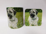 Anatolian Shepherd Mug and Coaster Set