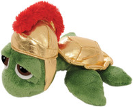 Lil Peepers Roman Turtle Plush Toy, 25.4cm