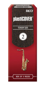 Rico Plasticover Tenor Sax Reeds, Strength 2.0, 5-pack