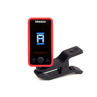 Eclipse Headstock Tuner, Red, by D'Addario