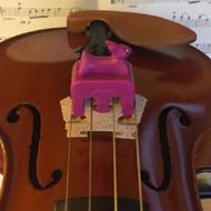 Artino PM-111-PR Kids Violin Viola Practice Mute Purple Rabbit Shape