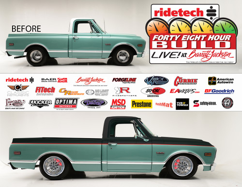 Ridetech's Latest 48 Hour Build, Live! at Barrett-Jackson