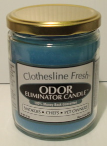 Clothesline Fresh Odor Eliminator Candle