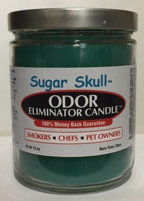 Sugar Skull Odor Eliminator Candle