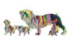 "Interior Illusions Plus - Graffiti Drip Dachshund - 16"" long"