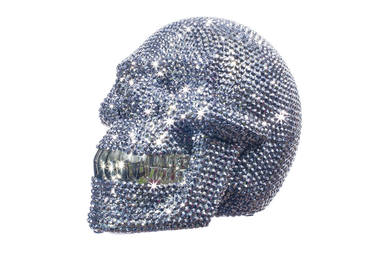 Interior Illusions Plus Rhinestone Skull Bank 8 Long Interior Illusions Plus