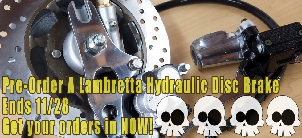 Lambretta Disc Brake Pre-Order