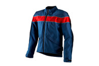 Men's Corazzo Speedway Dark Blue/Red in Size Small