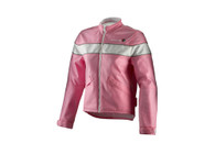 Women's Corazzo Speedway Jacket Pink/White in Size Small, Large and XL