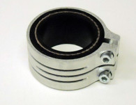 Targaline Alloy Intake Manifold Clamp and Rubber Carburetor Mount TMX/Amal/VHSA