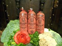 #186 Tee Sausage/Grobe Mettwurst  (Coarse) 1/2 lb