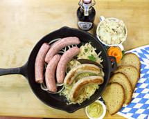 #121A Coarse Bratwurst 1 lb.