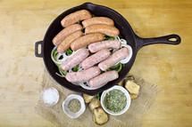 #168A Italian Sausage Hot 1 lb.