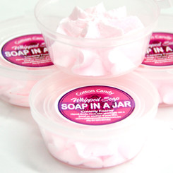 Cotton Candy Soap in a Jar - Travel Size