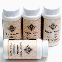 Egyptian Amber Body Powder - (choose size)