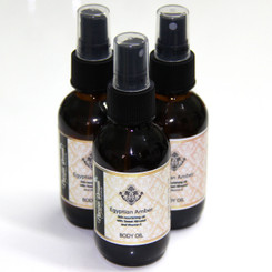 Egyptian Amber Body Oil Spray