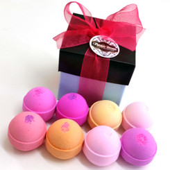 Box of Bath Bombs - Egg Size
