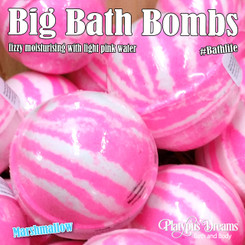 Marshmallow - Big Bath Bomb 175g