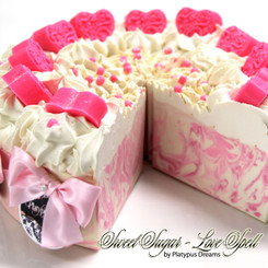 Love Spell - Sweet Sugar - Gourmet Cake Slice