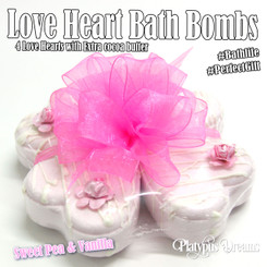 Sweet Pea & Vanilla Bubble Bath Love Heart Pack