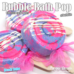 Beach Babe Bubble Bath Pop - 120g