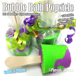 Melon & Violet Bubble Bath Pop - 85g