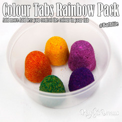 Colour Tabs for your tub - Rainbow Pack 5 tab