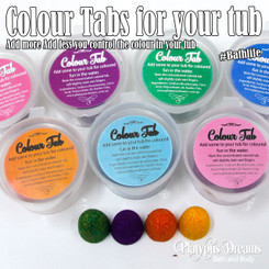 Colour Tabs for your tub - 4 tab pack