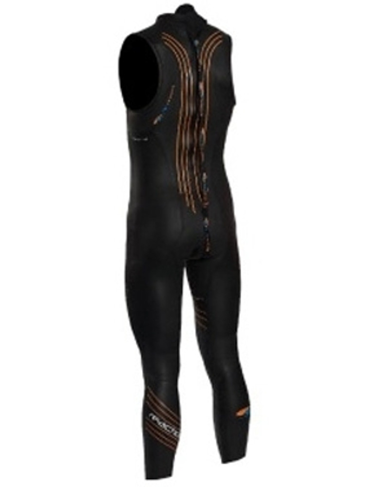 Blue Seventy Men's Reaction Sleeveless Wetsuit back