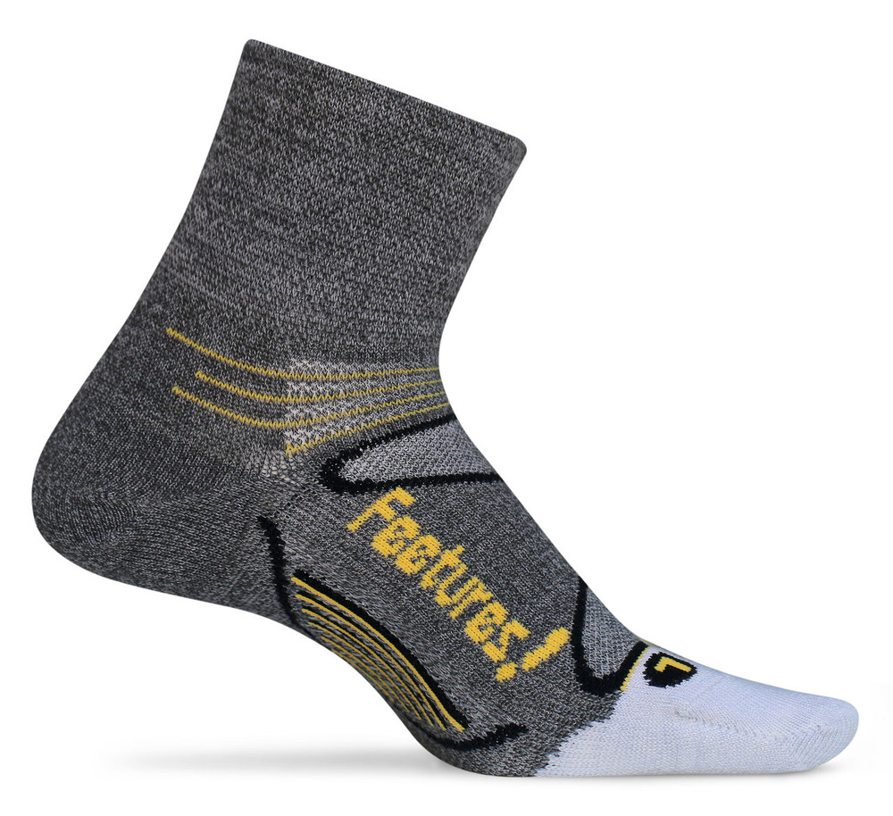 Feetures! Elite Merino + Ultra Light Quarter Sock
