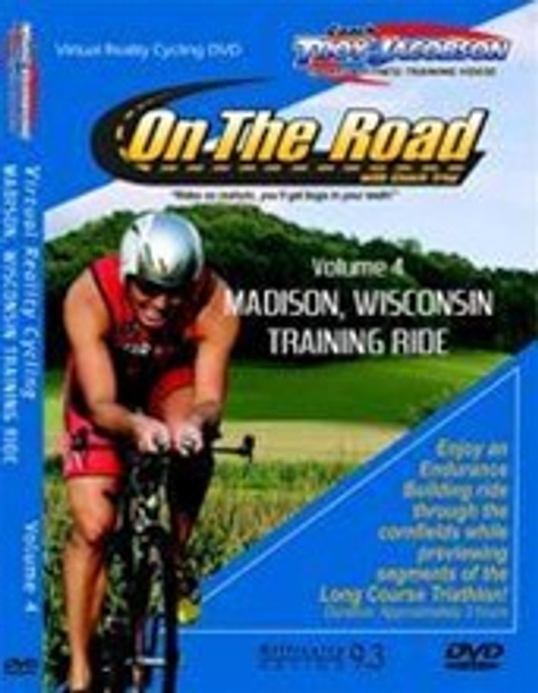 Spinervals On The Road Volume 4 Madison Wisconsin Training Ride