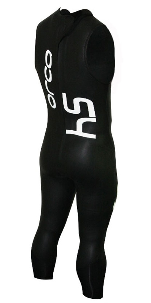 Orca Men's S4 Sleeveless Wetsuit - Back