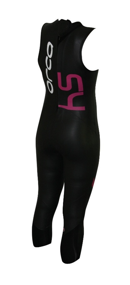 Orca Women's S4 Sleeveless Wetsuit - Back