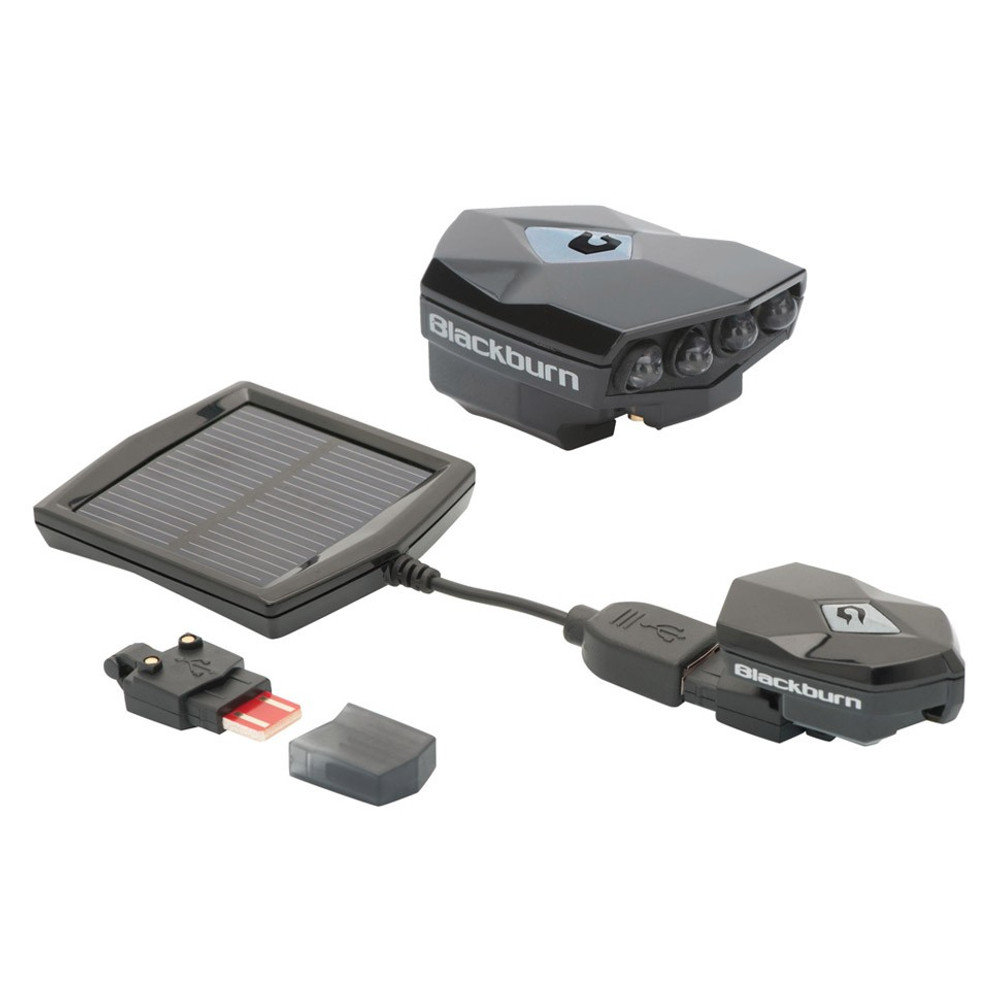 Blackburn Flea 2.0 Front USB + Solar Rechargeable Light