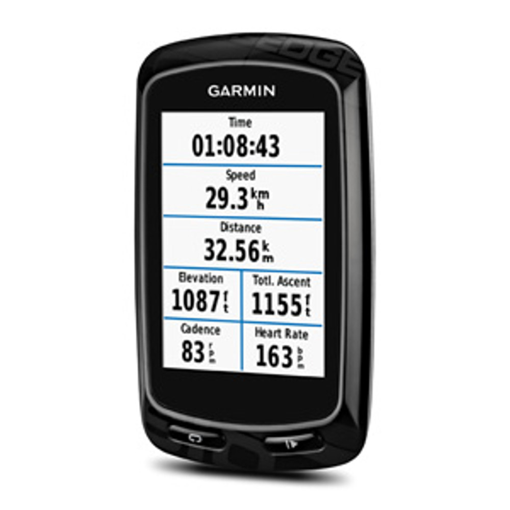 Garmin Edge 810 GPS Bike Computer-stats