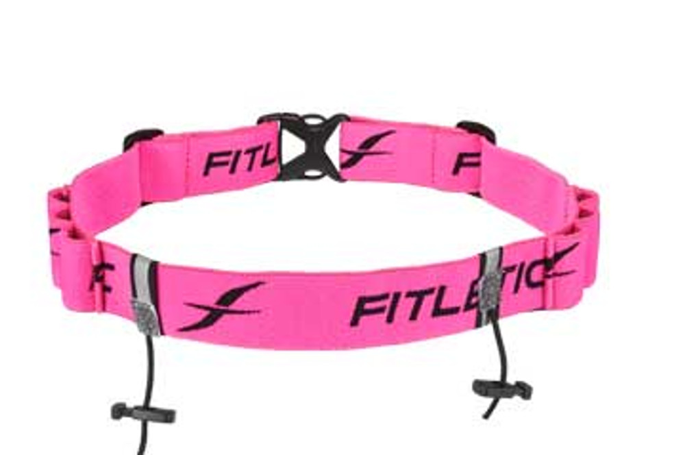 Fitletic / iFitness Race Number Belt with Gel Holders