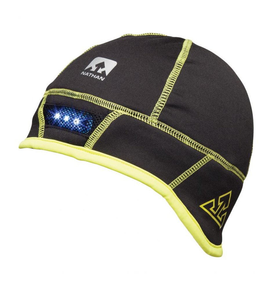Nathan Men's TradRad Stretch Fleece Beanie with Lightwave LED Tech