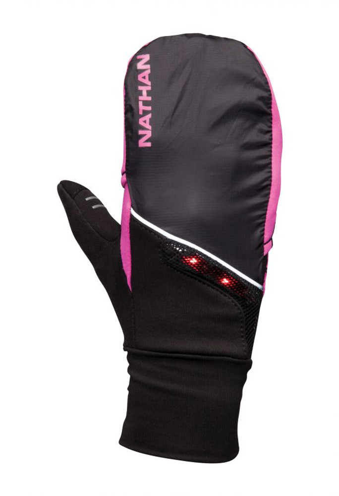 Nathan Women's TransWarmer Covertible Glove/Mitten with Lightwave LED Tech