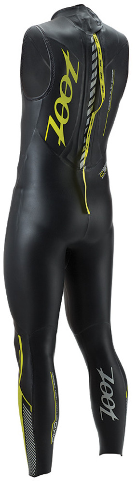 Zoot Men's Z Force 3.0 Sleeveless Wetzoot Wetsuit - Back