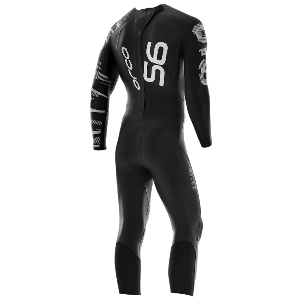 Orca Men's S6 Full Sleeve Wetsuit - Back