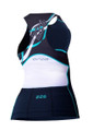 Orca Womens 226 Support Tri Singlet - back
