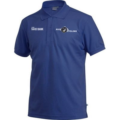 Craft Men's Team Saxo Bank Pique Sport Polo