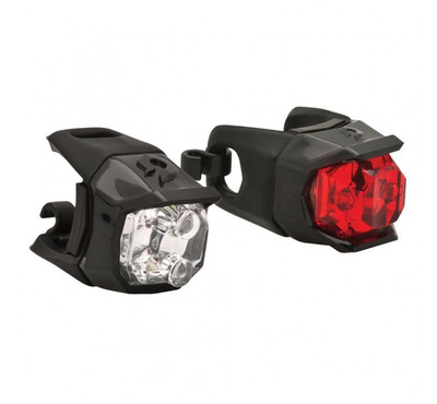 Blackburn Click Combo Front + Rear Lights - 2017